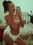 Dolly escort Brown haired Russian girl with Athletic body