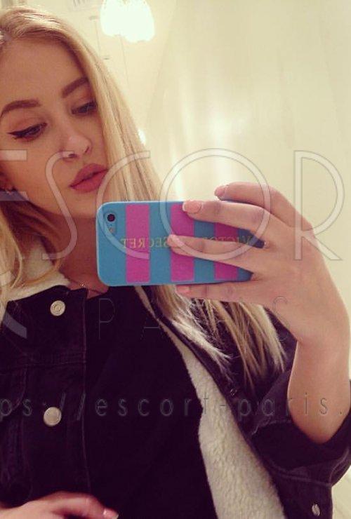 Kate escort Blond haired Eastern European girl with Slender body