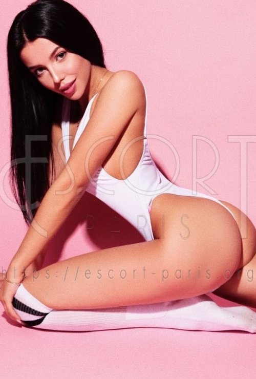 Milana escort Brown haired French girl with Slim body
